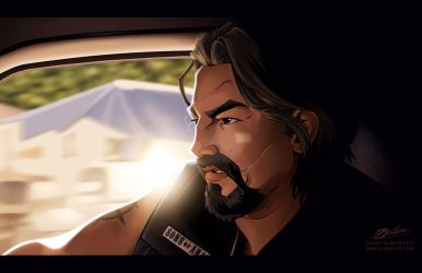SoA Screen Study: Chibs Telford by Javadoodle