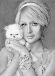 Paris Hilton by riefra