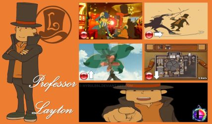 Professor Layton Super Smash Bros. Moveset by Hyrule64