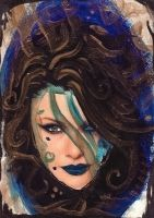 ATC: Golden Hair 2 of 9 by GillianIvy