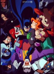 Overcrowded - After Alex Ross by RickCelis