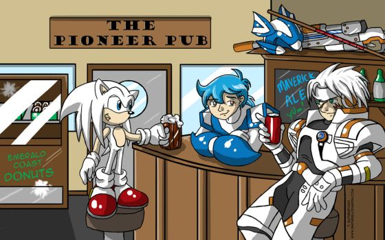 Downtime at the Pioneer Pub by tcat