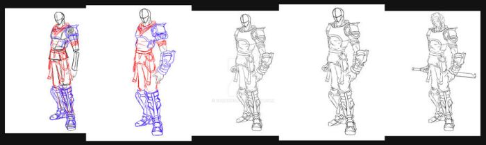 LineArt Process by Burdicus