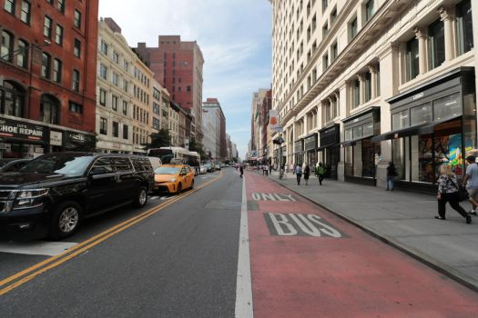 NY Madison Square street by notroot