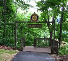 Ledges Trail Entrance by Foozma73