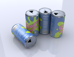4 Slurm Cans by thediamondsaint