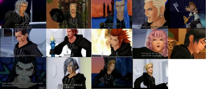 Organization XIII funny faces by Roxas-X-Axel-4ever