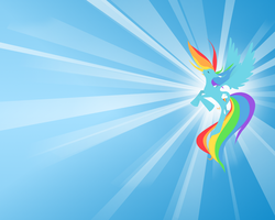 rainbow dash wallpaper by mmad04
