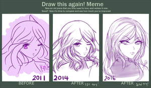 Before And After - Old OC #2 by Mizueki