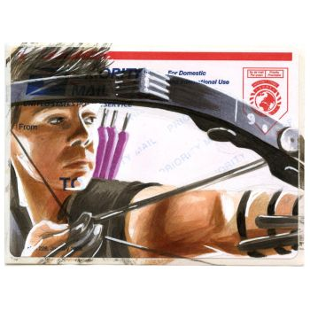Copic Hawkeye on a 228 by danomano65