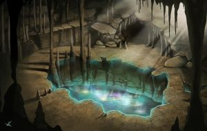 Cave of Miracles by AonikaArt
