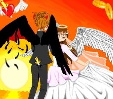 there's a devil in every angel by MollyFisen