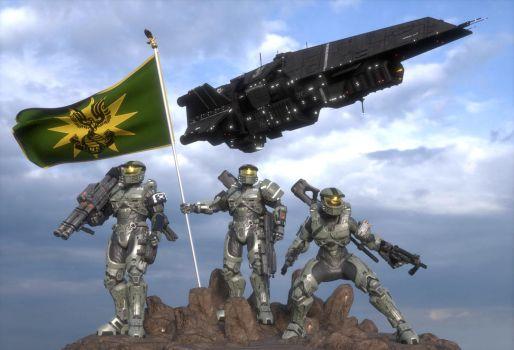 UNSC Green Team by enderianc