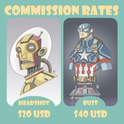 Commission Rates 1 by PerfectCirkel
