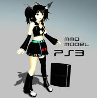 MMD Model: Playstation3 -PS3- by xNeonPistolx