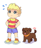 Lucas n Boney by Drawn-Mario