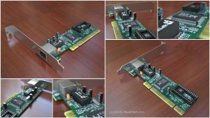 Network Card by pnn32