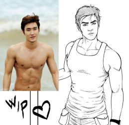 Reference Siwon by CristianoReina
