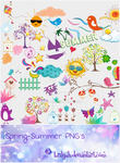 Spring-Summer PNG by Brilijah
