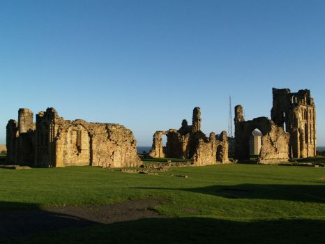 Tynemouth Abbey 3 by Amy-the-Faerie