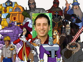 Character Compilation: Corey Burton by Melodiousnocturne24