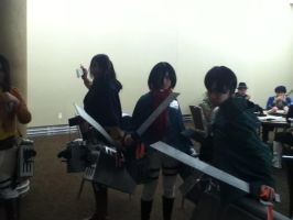 Attack on Titan Group by 6SeaCat9