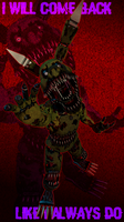 Nightmare Springtrap v.2! by YourOgrelord