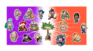 Pokemon Alola Sticker Set! (3 of 3)