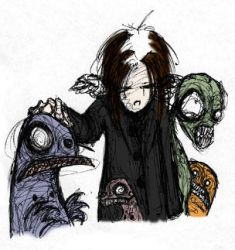 Me and my monsters by twigs