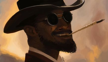 Rough Django by Shiva-Anarion