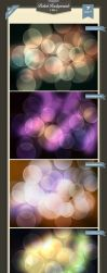 Bokeh Backgrounds 1 by baturaN