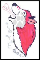 Pink.Love.Wolf by The--Working-Wulf