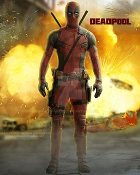 Deadpool by vaniapaiva
