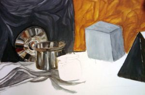 FDN 2D Still Life WIP by the-negative