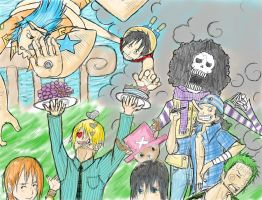 OP: Strawhat Party by l3reezer