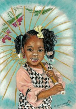 Carols Niece Commission by Catluckey