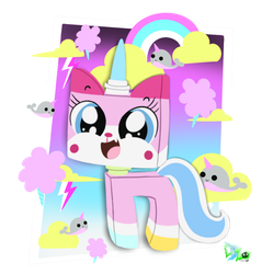 Unikitty by CloudyZu