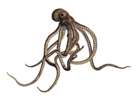 Giant Of The Deep PNG  Stock 02 by Roy3D