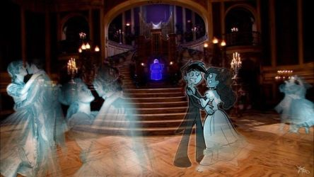 The Haunted Ballroom by Panda-Jenn