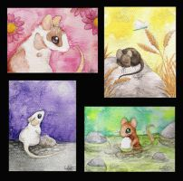 Mouse paintings by Spectrolite