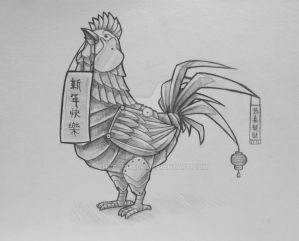 Year of the Rooster by Chocochalk