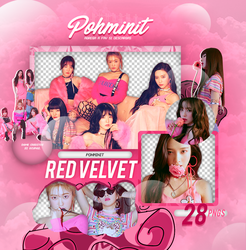+Pack Png Red Velvet 07 by Pohminit