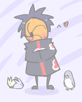 Tobi being cute. : D by heartlesstheif