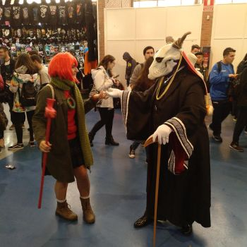 Chise Hatori and Elias Ainsworth cosplay v2 by Soulren