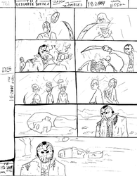 THE ULTIMATE BATTLE pg.481 by DW13-COMICS