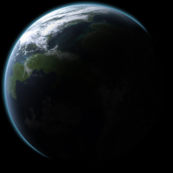 Temperate Planet by Prototype516