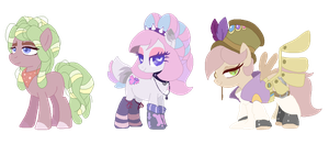 Mixed MLP Adoptables CLOSED by ACLuigiYoshi