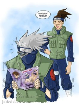 Kakashi and Iruka by jadress