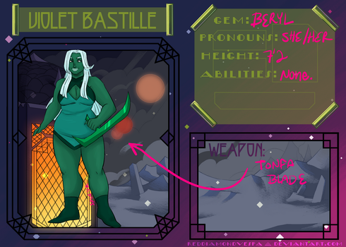 [Violet-Bastille] Court App: Beryl by spucifer