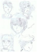 My nonexistent comic book characters by anime-girl1709